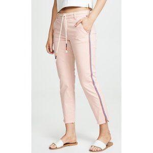 NEW Sundry Classic Straight Trousers Blush Belt 25
